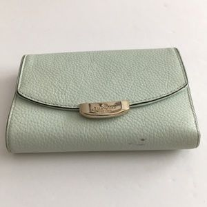 Kate spade light green wallet